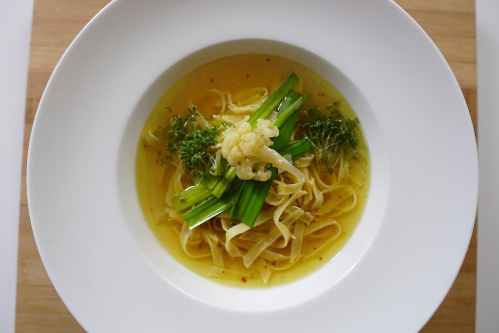 Starter kit til japansk ramen suppe